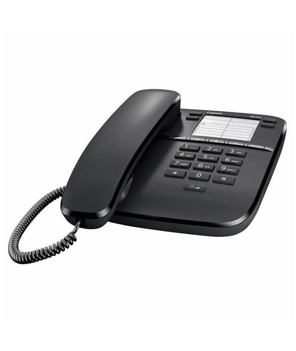 Gigaset DA310 Teléfono analógico. Negro