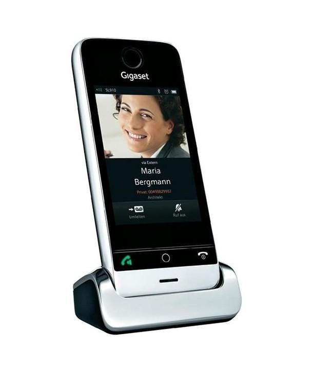Gigaset SL910 Teléfono inalámbrico con pantalla táctil