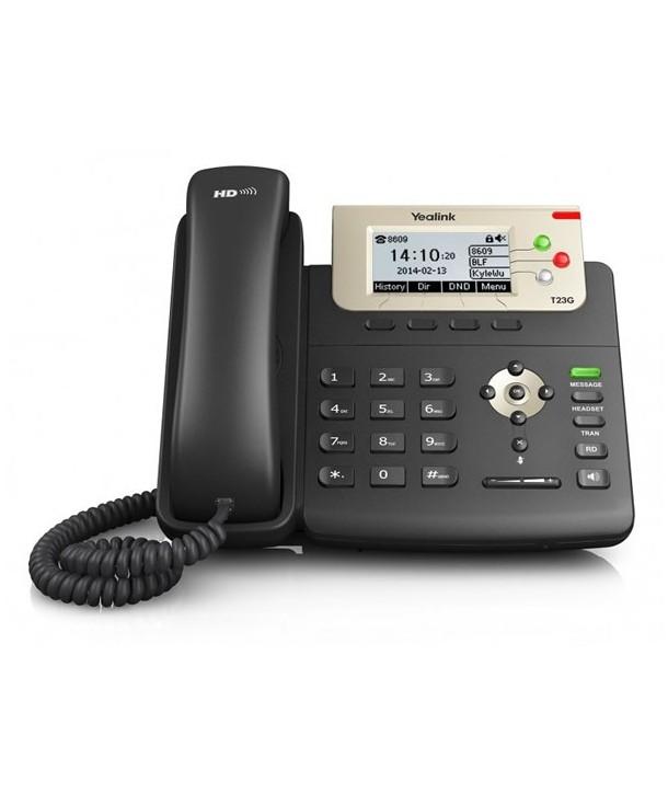 Yealink SIP-T27P Teléfono SIP, 6 cuentas SIP, PoE