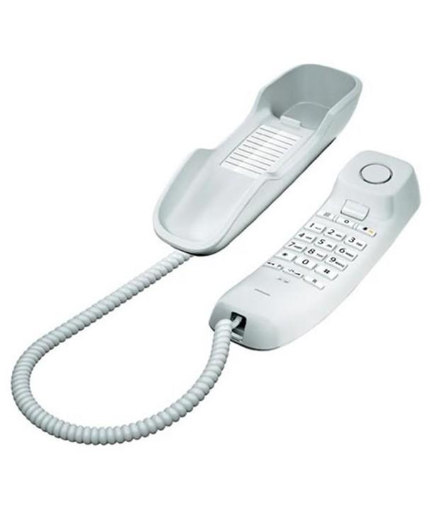 Gigaset DA210 Teléfono analógico para pared. Blanco