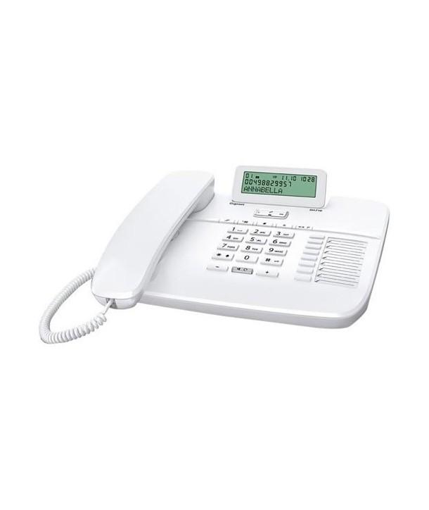 Gigaset DA710 Teléfono analógico profesional, con pantalla inclinable. Blanco