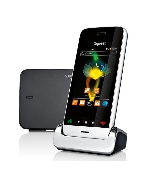 Gigaset SL930A Teléfono inalámbrico con pantalla táctil y Android