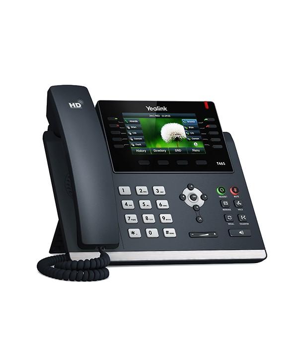 Yealink T46S Teléfono SIP, 16 cuentas SIP, PoE
