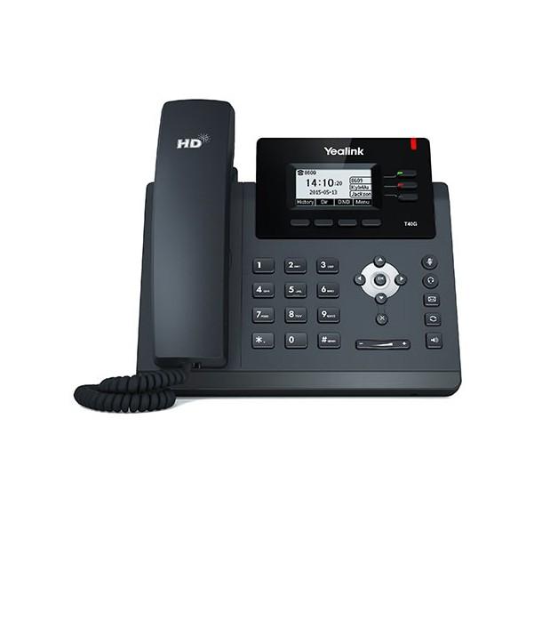 Yealink SIP-T40G Teléfono SIP, 3 cuentas SIP, PoE