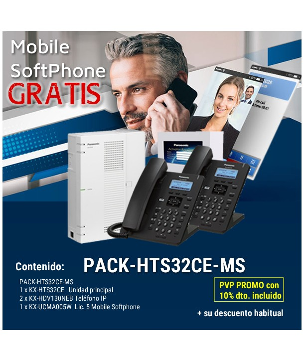 Panasonic PACK-HTS32CE-MS - Promo Mobile Softphone