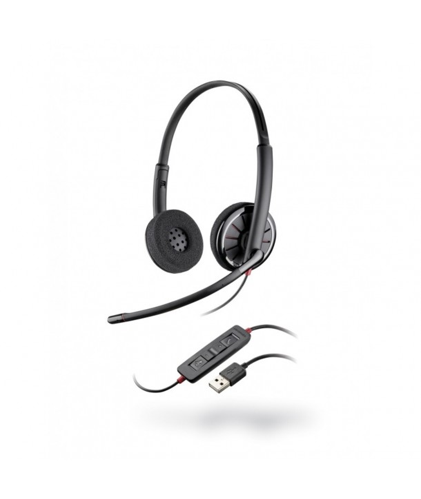 Plantronics Blackwire C320 Auricular con Cable USB Biaural