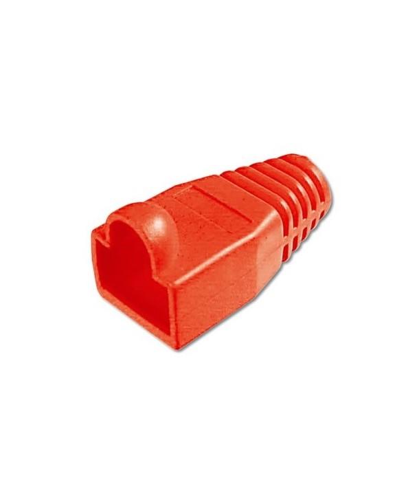 Digitus Protectores rojo p/ conector Macho RJ45
