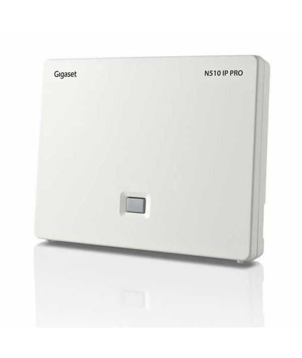 Gigaset N510 IP Pro Base Centralita IP-DECT , 6 cuentas SIP, PoE.