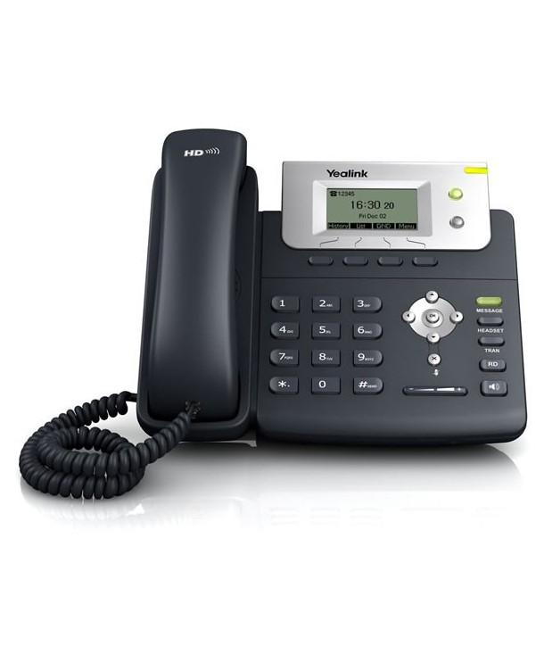 Yealink T21P Teléfono SIP con pantalla, PoE, 2 cuentas SIP