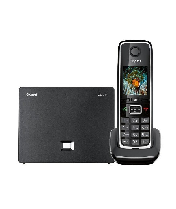 Gigaset C530 Teléfono inalámbrico IP con manos libres y pantalla a color de 1,8 pulgadas
