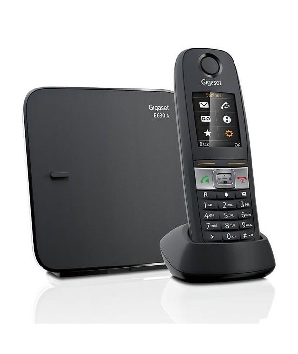Gigaset E630 Teléfono inalámbrico resistente a golpes, salpicaduras y polvo (Norma IP65)