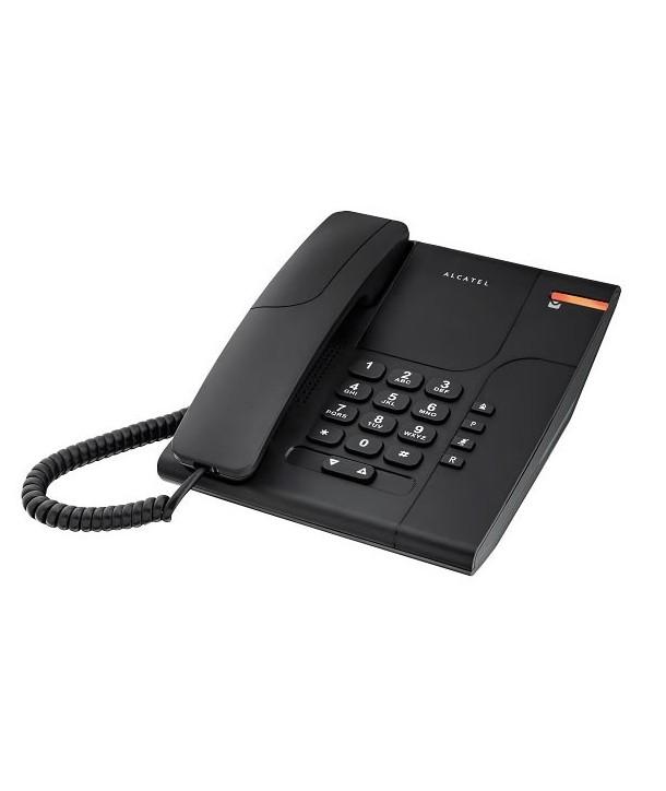 Alcatel Temporis 180 Teléfono analógico sencillo. Negro