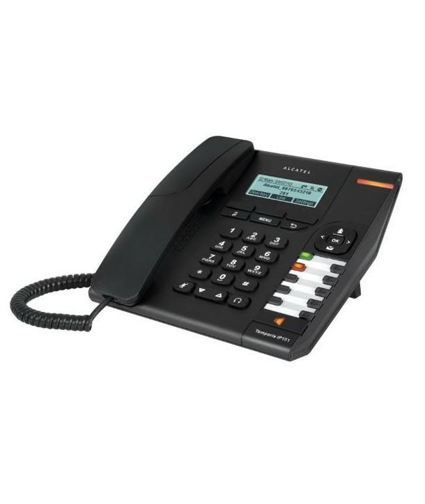 Alcatel Temporis IP151 Teléfono SIP con pantalla retroiluminada, 2 cuentras SIP y PoE