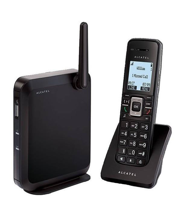Alcatel IP2115P Solución DECT SIP con base independiente, 6 cuentas SIP, 4 llamadas simultaneas y sonido HD