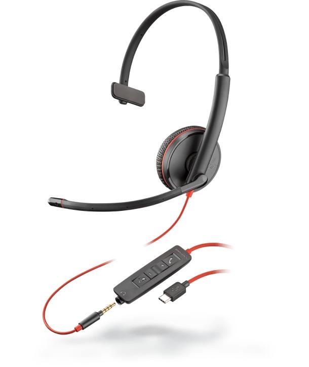 BLACKWIRE,C3215 USB-C