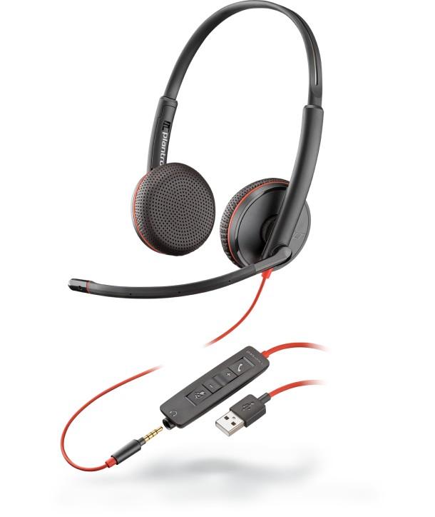 BLACKWIRE,C3225 USB-A