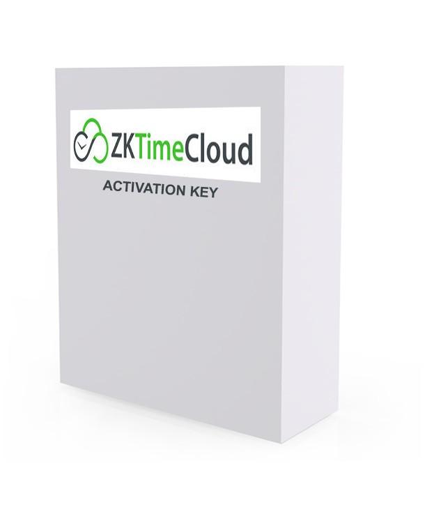 ZKTIME CLOUD (ZKTECO) - 1 year Licence - 350 users