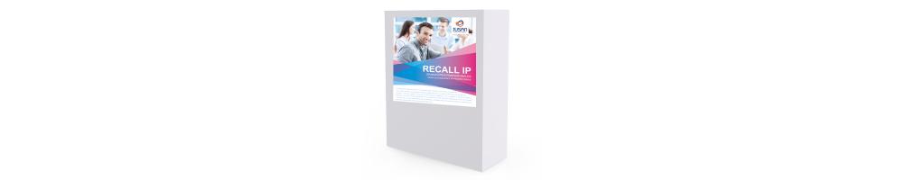 Recall IP (Soporta CODECs G.711 - G.723 - G.729)