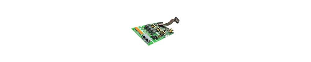 Sistema TEA308/TES824 - Tarjetas de Opciones