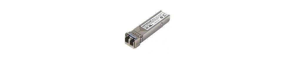 Módulos de fibra óptica Gbit, Gbit SPF y Acces.